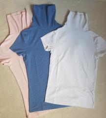 Tri majice kratkih rukava