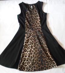 Prelepa crna haljinica YD