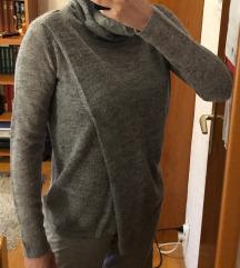 Sivi rolka-džemper mohito-POTPUNO NOV