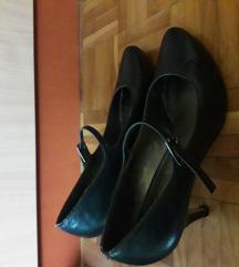 Kozne teget sandale velicina 39