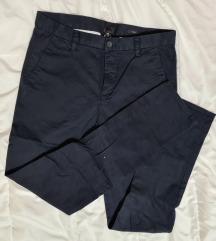 Teget muške poslovne pantalone
