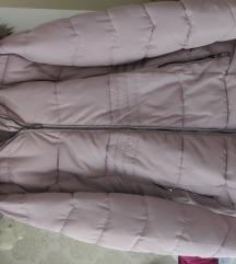 Zimska jakna puder roza