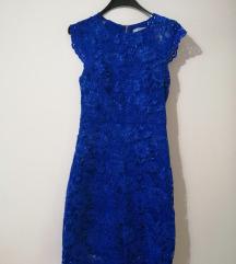 haljina čipkasta kratka nova S