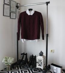 Bordo džemper C&A