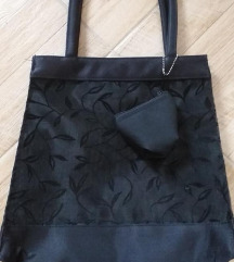 Unikatna torba od satena i čipke