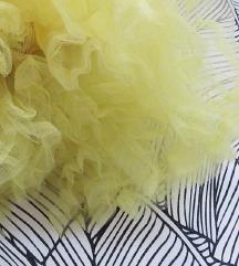 Pin Up limun žuti žipon / podsuknja