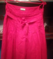 Suknja, crvene boje