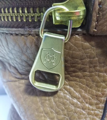 Massimo Dutti torba prirodna 100%koža 46x30cm
