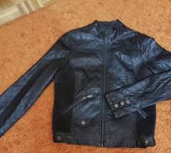Kozna crna jakna