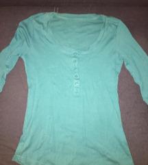 Tirkizno plava zenska majica