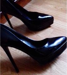 Crne sandale - salonke