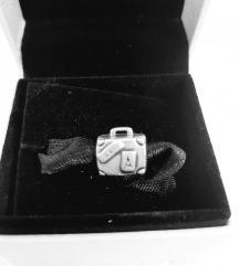 Original Pandora privezak kofer srebro