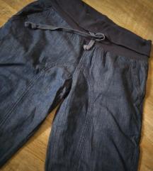Trudnicke baggy teksas pantalone
