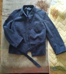 Velur jaknica 💙M/L