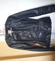 H&M strukirana jakna imitacija kože