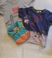 tri majice za decake 2 godine