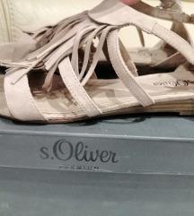 S'Oliver ravne sandale
