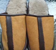 Papuče 100%vuna/koža  39/40