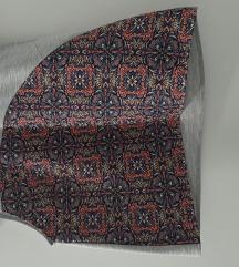 Zara prsluk bluza etno, NOVO
