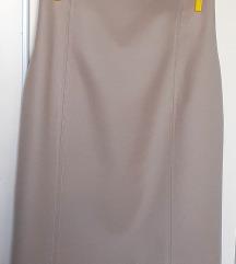 Suknja, pencil, kratka, poslovna, drap, 36