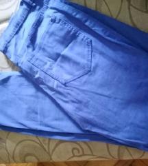 Kraljevsko plave H&M pantalone