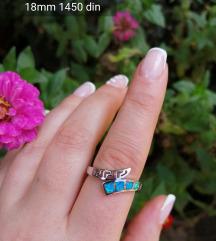 Prsten 925 18 mm
