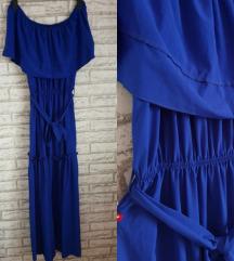 NOVA Plava haljina sa etiketom