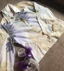 Vintage cvetno nezna kosulja