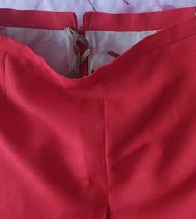 Crvena suknja kvalitetna NOVA