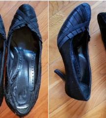 Aigner original cipele, koža/krzno