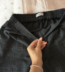 Pull&bear karirane pantalone 🍂🍁