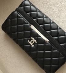 Nova Chanel pismo torba koža replika
