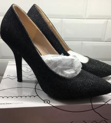 Cipele sparkle black