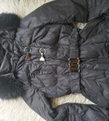 Crna italijanska jakna