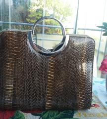 Fenomenalna torba od prave zmijske kože