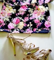 Floral print suknja novo S/M
