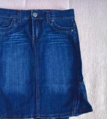 Bros jeans teksas suknja