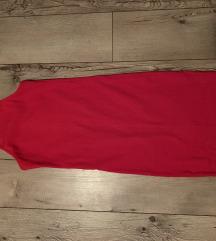 Vatreno crvena haljina