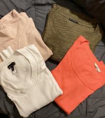 AKCIJA 3 džempera+duks