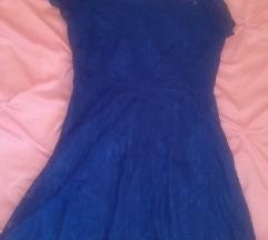 Nova plava haljina, čipkasta