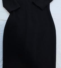 Prelepa crna uska haljina 500