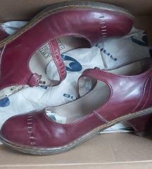 Original Dr. Martens kožne cipele na štiklu