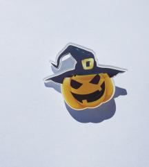 Halloween Pumpkin broš