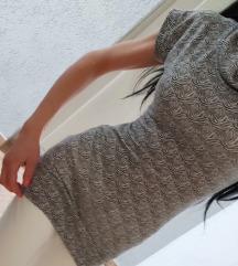 Tunika sivo bela