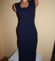 Duga teget haljina