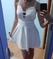 Letnja haljina bela NOVA