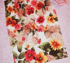 Cvetna pencil suknja ❤️❤️❤️s