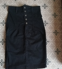 Suknja-visoki struk