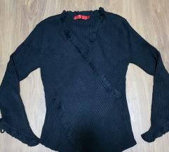 Crna bluza od trikotaze