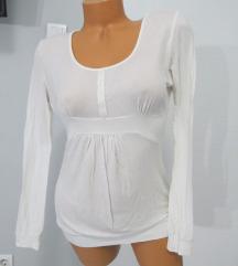 Mlečno bela prozračna majica vel. XL